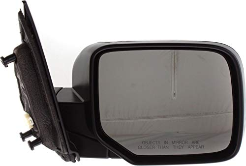 Mirror Compatible with 2009-2015 Honda Pilot Power Manual Folding Heated Paintable Passenger Side
