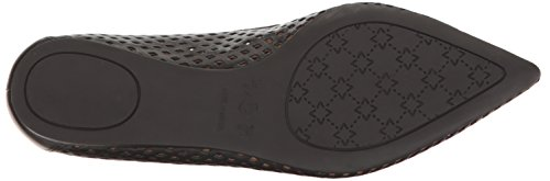 French Sole Fs / Ny Womens Vandalay A Punta Piatta In Pelle Nera