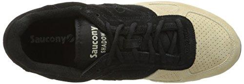 SAUCONY ORIGINALS Shadow O Suede, Sneaker Basse Uomo Nero / Beige Chiaro