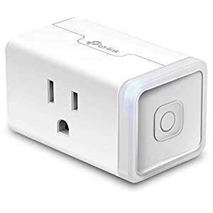 Kasa Smart WiFi Plug Mini by TP-Link – Reliable WiFi Connection, No Hub Required, Works with Alexa Echo & Google Assistant (HS105)