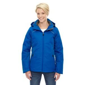 North End Linear Womens Blue Insulated Winter Snow Ski Snowboard Jacket Coat,NAUTICL BLUE ,Large