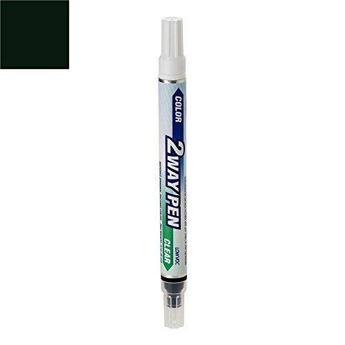 - ExpressPaint 2WayPen Lexus ES330 Automotive Touch-up Paint - Black Onyx 202 - Color + Clearcoat Only