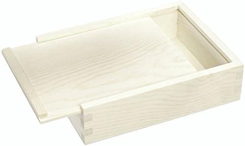 Knorr Prandell - Caja con Tapa Deslizante (Madera FSC, 16 x 12,5 x 4,5 cm), Color marrón: Amazon.es: Hogar