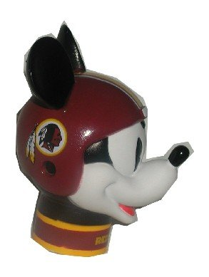 2 Washington Redskins Mickey Mouse Antenna Toppers ** Wincraft