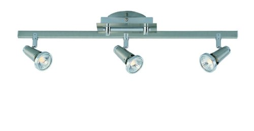 Lite Source LS-16063PS Producer 3-Head Wall/Ceiling Spot Light, Polished Steel by Lite Source