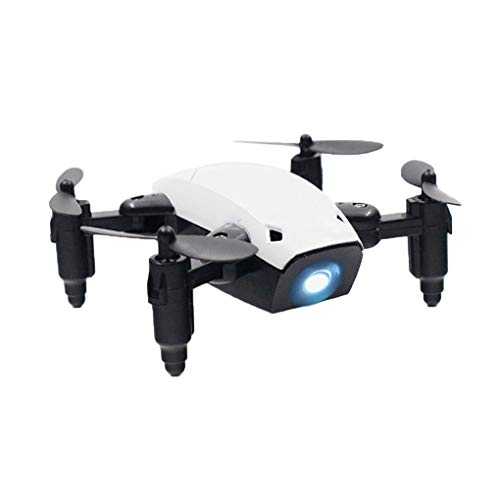 Fornateu Foldable RC Drone Pocket Micro Drone RC Helicopter with FPV Toy for Kids Gift