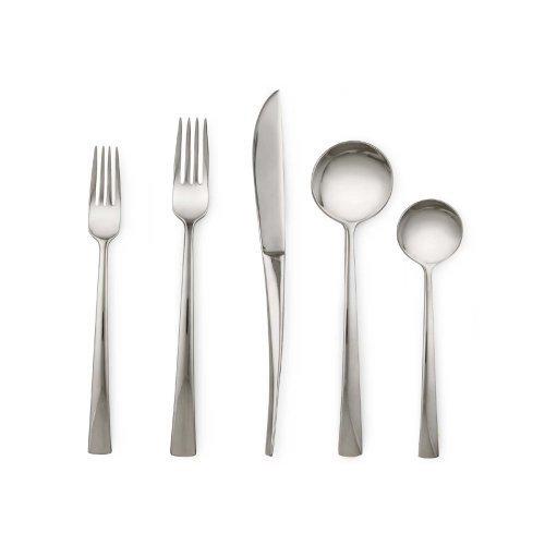 Dansk Rondure Stainless Flatware 20 Piece Place Set: Four 5 Piece Place Sets ()