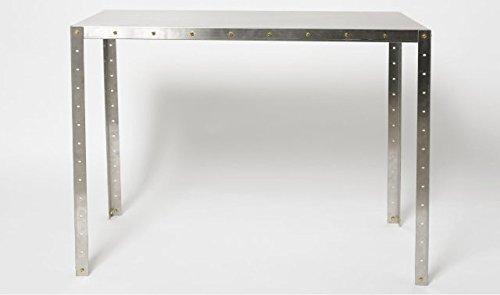 【Mills】 SoloDesk-Stainles(ステンレス製ソロデスク) (400×900) B07BVLPX7T 400×900 400×900