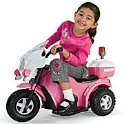 My-1st-Police-Bike-Electric-Ride-On-Girls-Pink