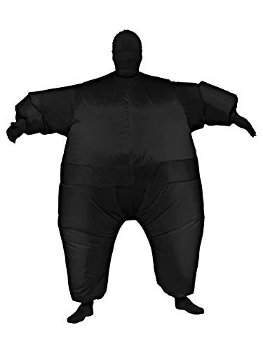 Rubie's Inflatable Full Body Suit Costume, Black, One -
