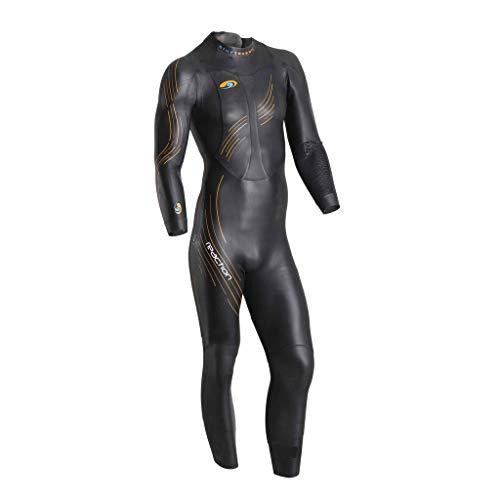 blueseventy 2019 Men's Reaction Triathlon Wetsuit - for Open Water Swimming - Ironman & USAT Approved (SMT)