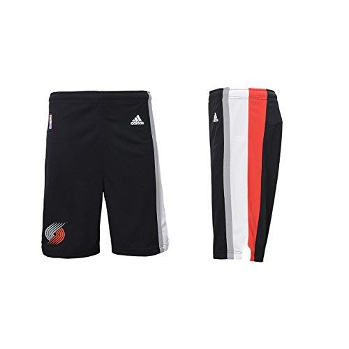 NBA Portland Trail Blazers Youth Boys 8-20 Replica Road Shorts, X-Large (18/20), Black