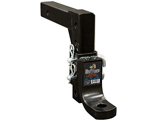 Buyers Products 1803095 4-Position 2 Inch Solid Shank Adjustable Ball Mount ()