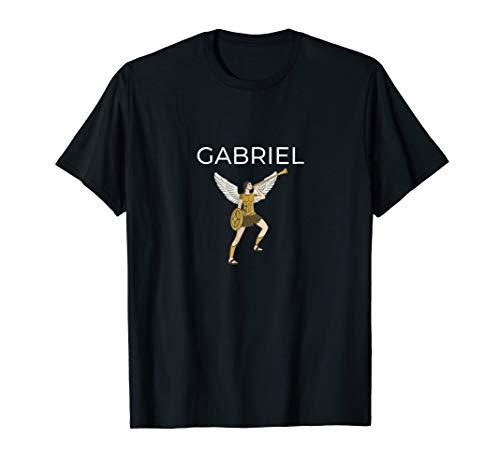 Archangel Gabriel And Horn Tshirt Archangel Gabriel -