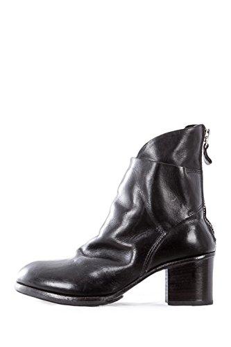 MOMA Damen Stiefeletten mit Zip CARMEN NERO schwarz