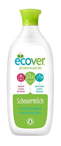 Ecover Ökologische Scheuermilch, 3er Pack (3 x 500 ml)