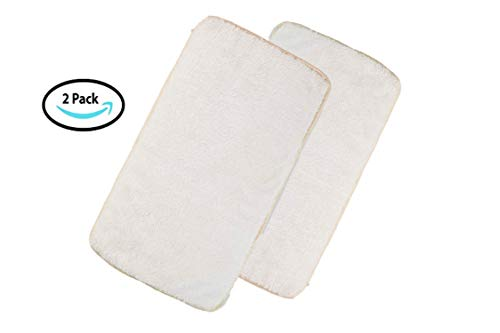 Duke & Dixie Pet Kennel Pads Pack of 2 White Soft Replacemen