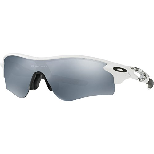 Oakley Men's Radarlock Path (a) Non-Polarized Iridium Wrap Sunglasses, Matte White, 38 - Oakley Sunglasses Radarlock