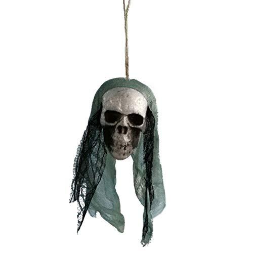 5 Pack, Hot sale 3 Piece Halloween Horror Buried Alive Skeleton Skull Garden Yard Lawn Decoration Halloween Decorations ()