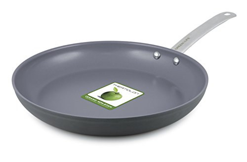 GreenLife 12 Inch Hard Anodized Non-Stick Ceramic Gourmet Fry Pan (Thermolon Pan compare prices)