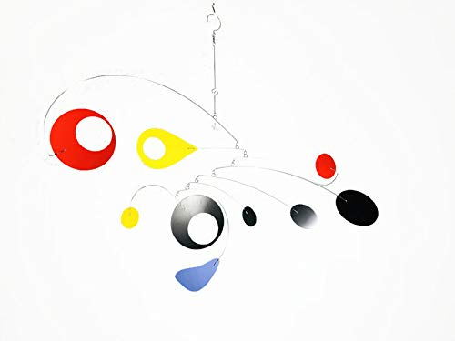 Hanging Mobile Calypso Style for your Artful Home or Office Multi Color