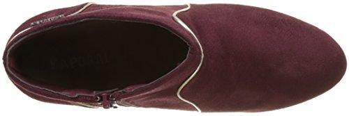 Sandow Kaporal Damen Stiefel 163 Bordeaux Rot Kurzschaft 5rrdWwgq