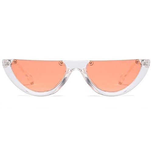 Femme ECMQS orange Orange de orange soleil Lunette Deep transparent Transparent g6vq6tW