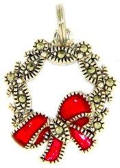 Judith Jack Christmas Wreath Charm E40606877T