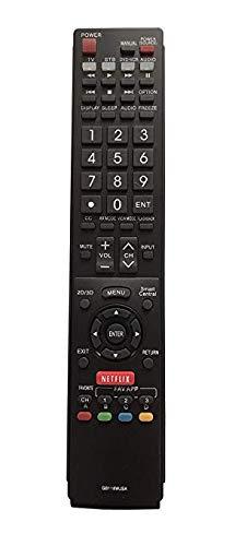 Universal Remote for Sharp TV GB118WJSA LC-60EQ10U LC60LE660U LC-60LE660U LC60TQ15 LC-70LE660U LC-70SQ15U LC-70UQ17U Gorilla babo