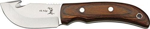 Elk Ridge Guthook Fixed Blade Hunting Skinning Knife ER108 W