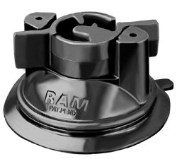 - RAM MOUNTS Mount with Suction Cup Base