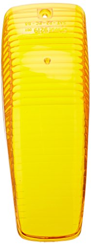 Grote 92193 Yellow Clearance Marker Replacement Lenses (Large Aerodynamic Cab - Cab Aerodynamic