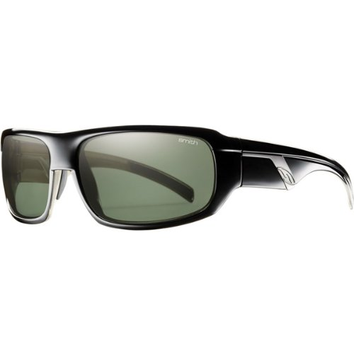 Smith Optics Tactic Premium Lifestyle Polarized Sports Sunglasses - Black/Gray Green / Size 61-17-125 by Smith Optics