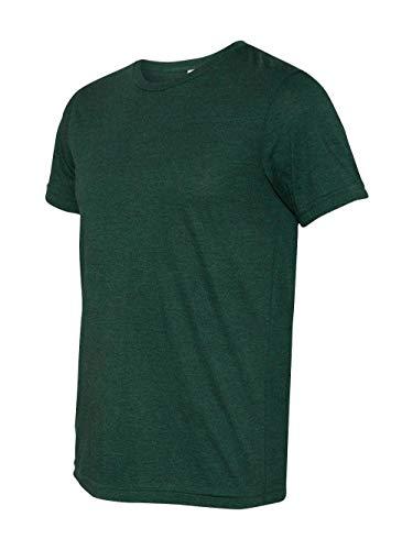 Bella + Canvas Mens 3.4 oz. Triblend T-Shirt (3413C) -EMERALD TR -