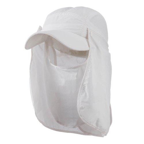 White Nylon Flap - 4