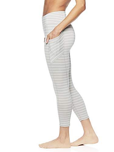 cc72af40a031e Gaiam Women's Capri Yoga Pants - Performance Spandex Compression Legging