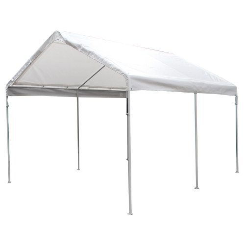 King Canopy C81013PC 10-Feet by 13-Feet Universal Canopy 6-Leg Canopy White (King Canopy Carport compare prices)