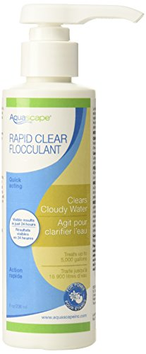 250 Ml Pond Clarifier - Aquascape Rapid Clear Flocculent Water Treatment for Pond, Waterfall, and Water Features, 8-Ounce Bottle | 98879
