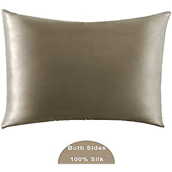 Amazon Com Jarolx 100 Mulberry Silk Pillowcase For Hair