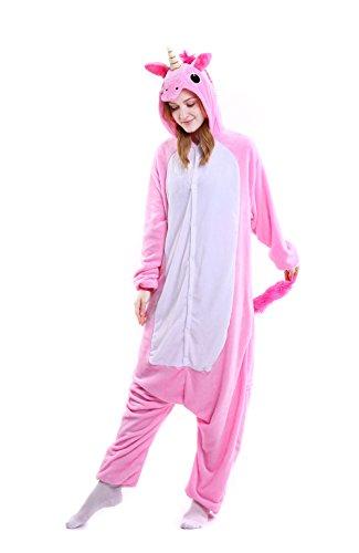 Child Catcher Costume Uk (Unicorn Onesie Adult – Feelme Unisex Onesies Pajamas Kigurumi Cosplay Sleepsuit Costume Animal Jumpsuit)