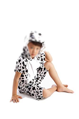 Children's Animal Clothing Halloween Cosplay Jumpsuitstage Costumes,Dalmatian,100cm -