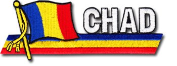 Chad - Country Flag Patch