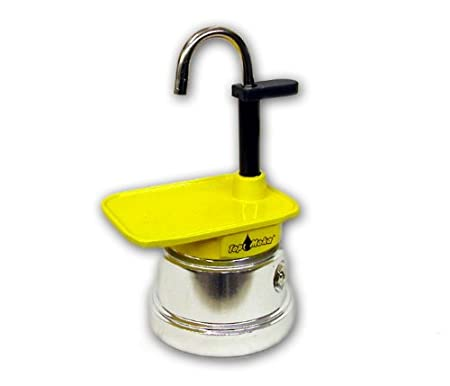 Top Moka Cafetera mini01 Amarillo-Plata: Amazon.es: Hogar
