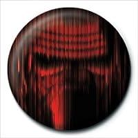 Rozet Star Wars Episode VII Kylo Ren Lines