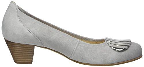 Gabor Shoes Comfort, Zapatos de Tacón para Mujer Gris (light grey 40)