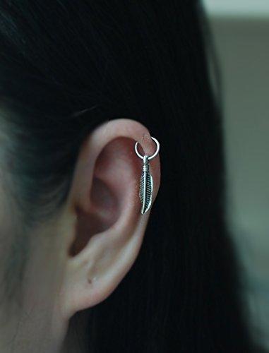 Amazoncom Hoop Earring 20gauge Sterling Silver Cartilage Hoop