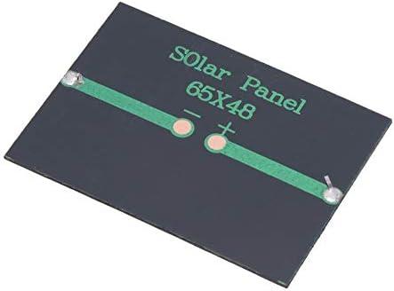 Keenso 3V 100MA 0,3W Solarpanel, 4 Stück 65 * 48mm DIY tragbares Solarstrom-Ladepanel