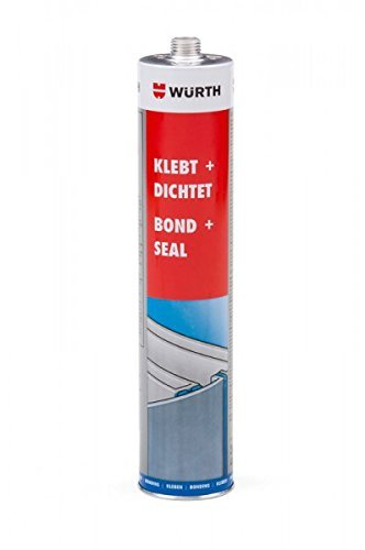 Wurth Bond & Seal Flexible PU Adhesive and Sealant in White 300ml by Wurth