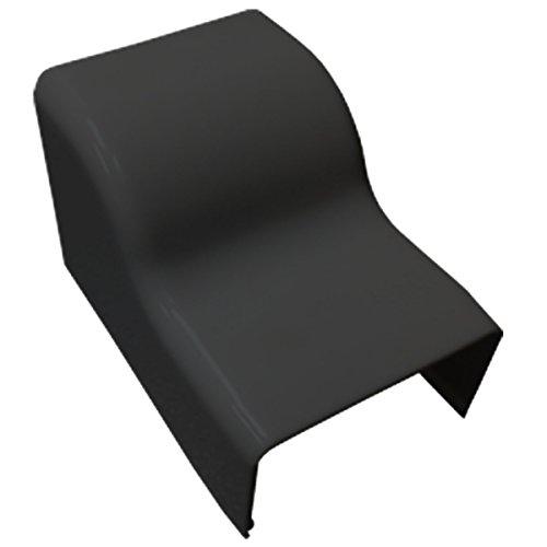 Ceiling Entry for Medium (MED1) Raceway - 1 Piece - Color: Black
