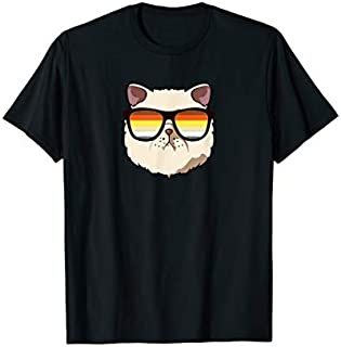 Exotic Shorthair Cat Mom Sunglasses, Gay Pride Month T-shirt | Size S - 5XL